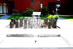 Prestegården fontenene